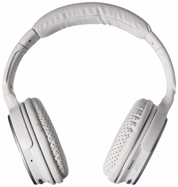 Nakamichi BTHP11 Series Bluetooth On-The Ear Headphones - Retail Packaging - White
