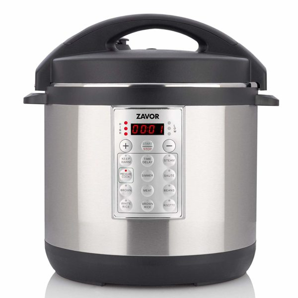 Zavor Select 6 Quart Electric Pressure Cooker - Brushed Stainless Steel (ZSESE01)