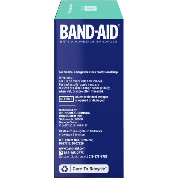 Band-Aid Flexible Fabric - 100ct