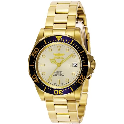 Invicta 9743 Men's Pro Diver Collection Gold Watch