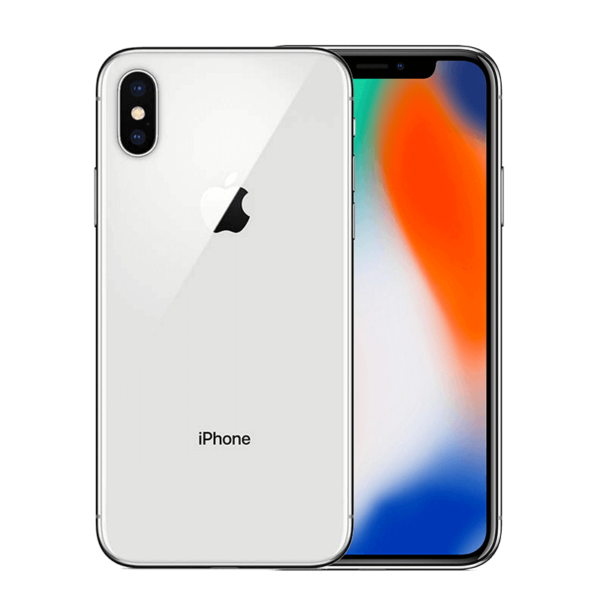 iPhone X 256GB – Space Color Silver (Unlocked)