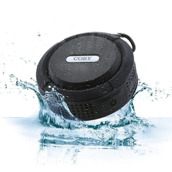 Coby Waterproof Speaker, Shower Speaker,IPX5, Wireless Portable