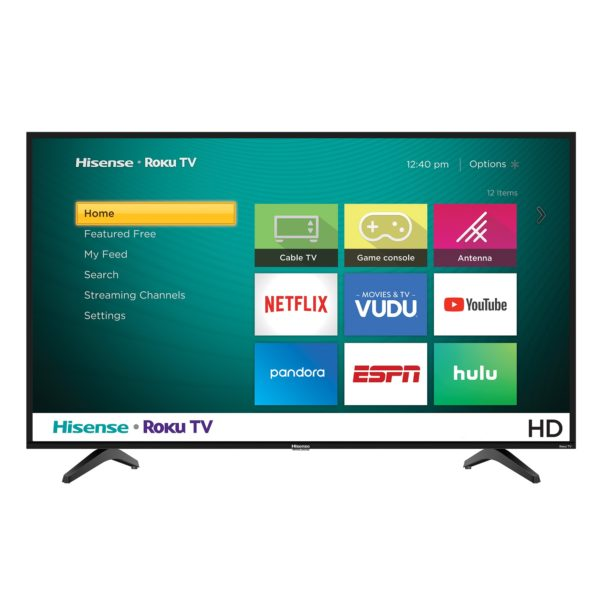 "Hisense 32"" Class HD (720P) Roku Smart LED TV (32H4030F)"