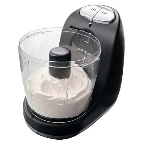 Oster FPSTMC3321 3-Cup Mini Chopper with Whisk, Black