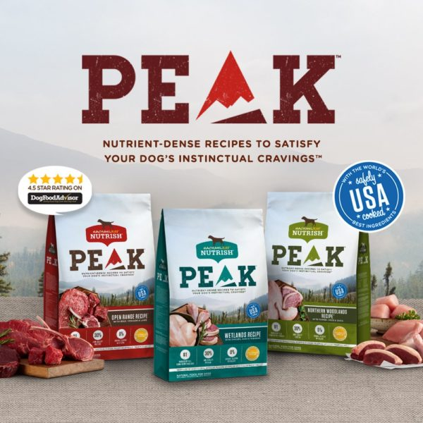 Rachael Ray Nutrish Peak Open Range Recipe with Beef, Venison & Lamb Dry Dog Food