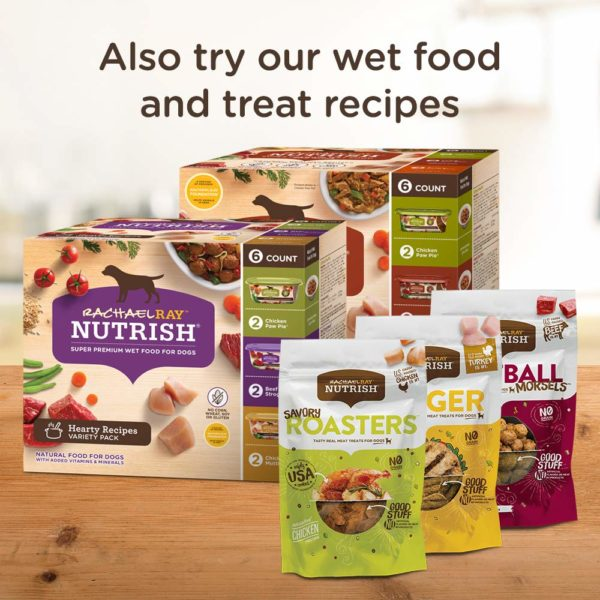 Rachael Ray Nutrish Real Beef, Pea & Brown Rice Recipe Dry Dog Food
