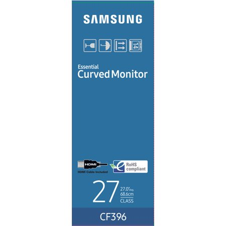 "Samsung 27"" Curved 1920x1080 VGA HDMI 60hz 4ms AMD FREESYNC HD LED Monitor - C27F396"
