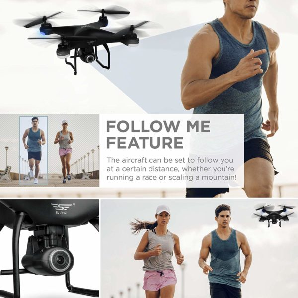 Best Choice Products 2.4G FPV RC GPS Quadcopter Drone w/720P HD Cam, Auto Return, Follow Mode, VR Headset Compatible