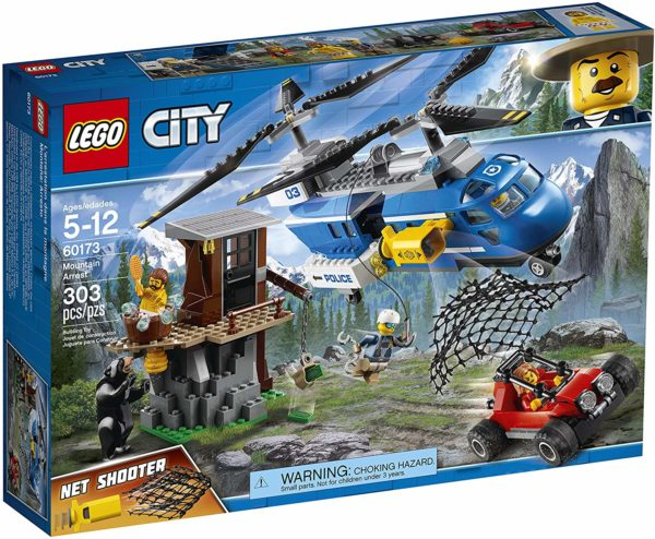 LEGO City Mountain Arrest 60173 Building Kit (303 Pieces)