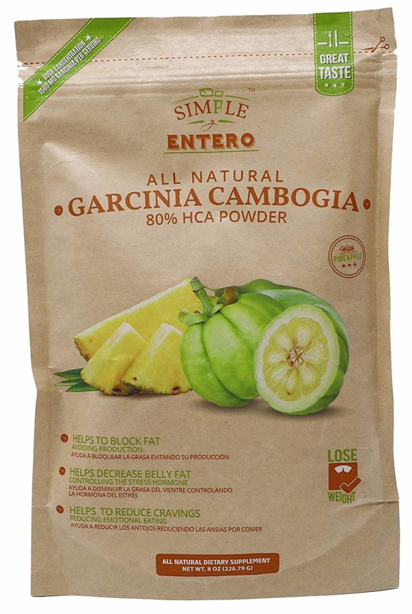 Garcinia Cambogia Powder Mix Natural Organic Multivitamin Powder 8oz Package