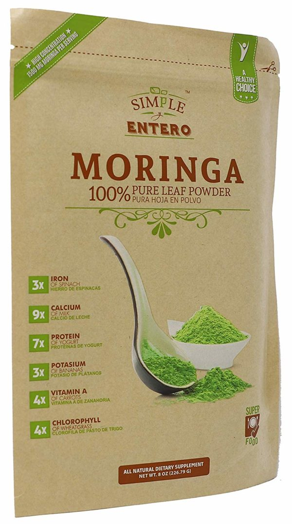 Moringa Oleifera Pure Leaf Powder