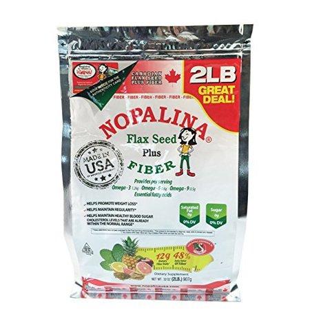 NOPALINA Flax Seed Plus Fiber 32OZ (2LB) Bag only