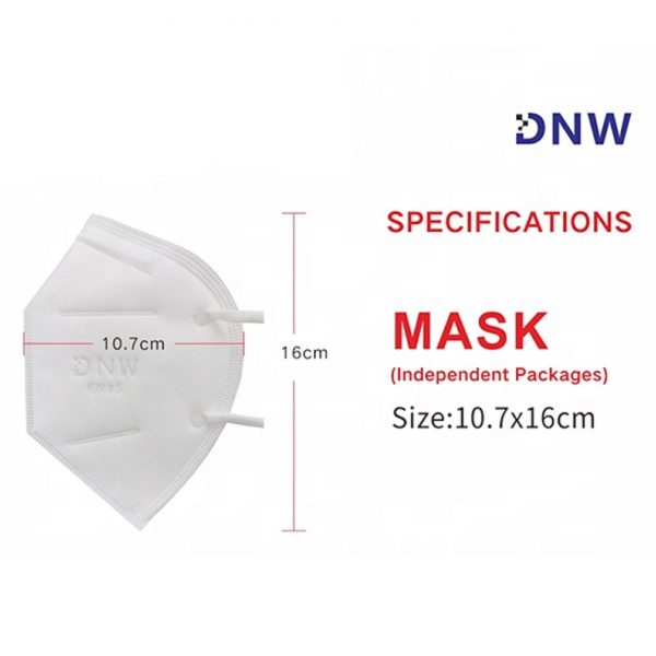KN95 Standard for Respirator Self-Priming Filter Type Anti-particulate Respirator Cleaning DIY Construction Home use Woodworking Mowing 10pcs by AYFA