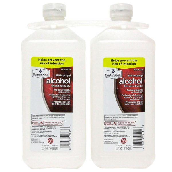 Isopropyl Alcohol FG002144 (32 fl. oz., 2 pk.)