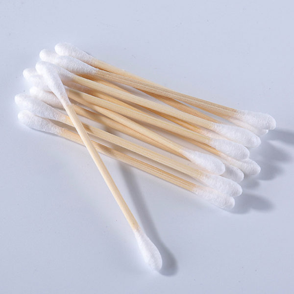Cotton swabs wooden stick cotton ear buds  (Pack 800pcs/Set) by AYFA