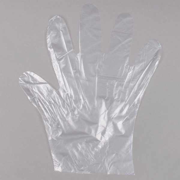 Gloves a Safe Sanitary Disposable Polyethylene Food Service Size Medium (1000pcs) by AYFA
