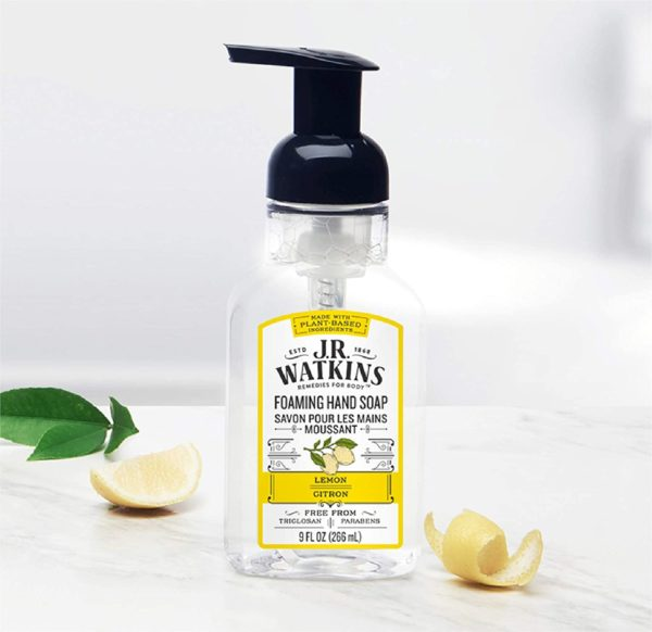 Foaming Hand Soap Lemon Scented Foam Hand Soap for Bathroom or  Kitchen USA Made and Cruelty Free 9 fl oz (1pcs)