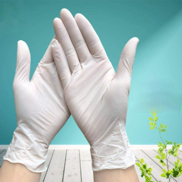 Gloves Latex Powdered Disposable for Foodservice size Large 100pcs by AYFA