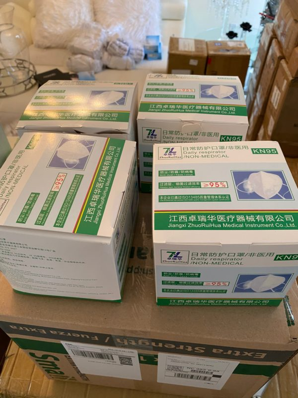 Mask KN95  Daily Respirator 30pcs by AYFA