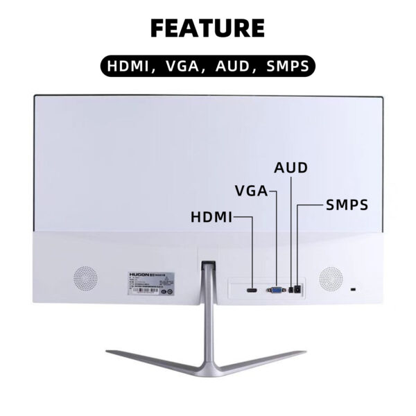 "WAYFAITH Monitor LED curved 24"" Full HD 1920 * 1080p 75hz, HDMI, VGA port with external speaker connection, (HDMI cable included)"